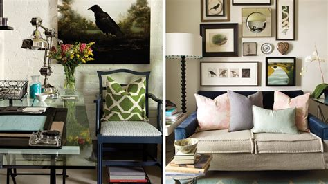 interior design cosy eclectic home office youtube