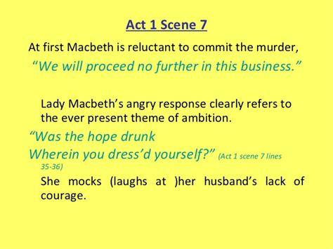 field of themes macbeth lady mac choices