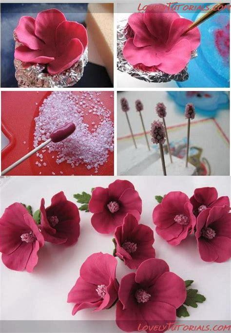 flower tutorial 25 best ideas about fondant flowers on