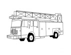firetruck coloring page truck coloring pages