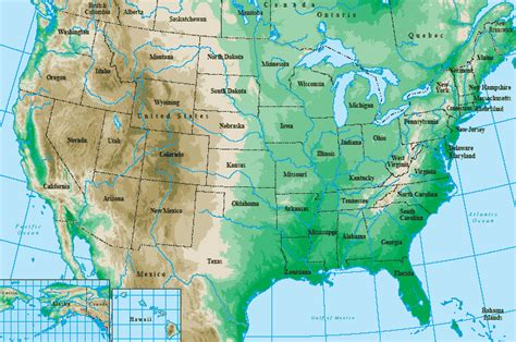 topographical map of the united states maps united states map topo