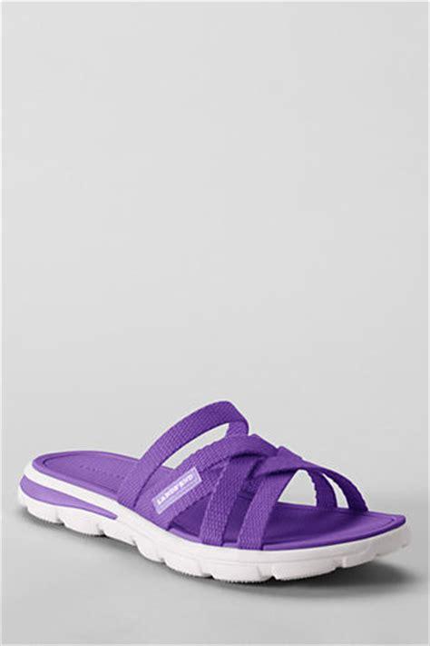 lands end s sandals lands end s gatas slide sandals shopstyle