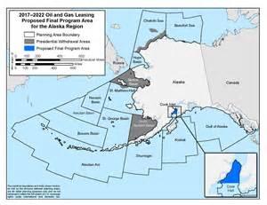 alaska map continental us alaska ocs region boem