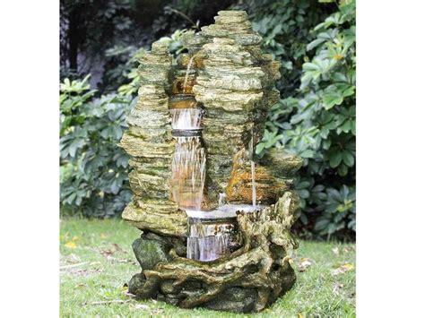fontaine et cascade de jardin fontaine de jardin miami rochers avec cascade jardideco