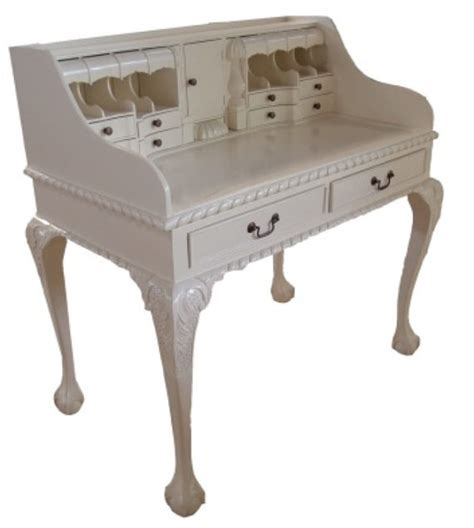French Country Desk White Desk Executive Desk Solid Wood White Country Desk