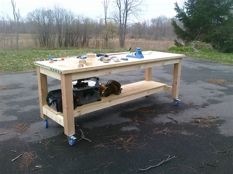 8 foot work bench pdf diy workbench plans 8 feet long download woodworker s
