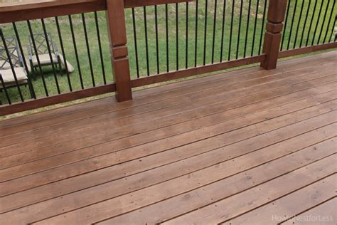 stained deck   nest