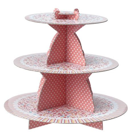 cupcakes etagere kartonnen etagere met 3 lagen ideas