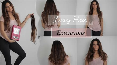 Luxy Hair Reviews by Luxy Hair Extensions Review Ombre Chestnut 160 Gram