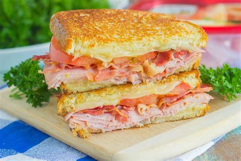 ham cheese sub sandwich grilled ham and swiss sandwich pumpkin n spice