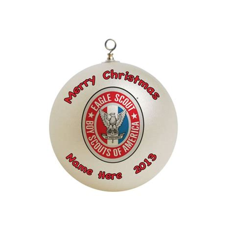 boy scout eagle gifts personalized boy scout eagle scout ornament