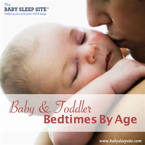 baby and toddler bedtimes by age a reference chart   the