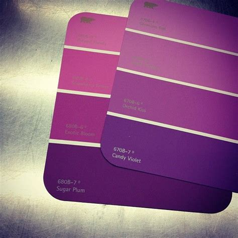 different color purples purple paint sles going with different tones of purple