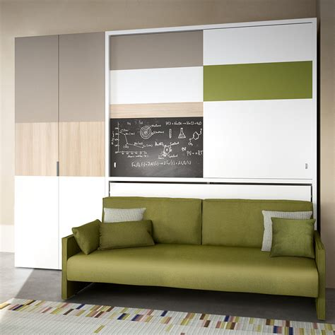 murphy bed with sofa wall sofa bed transformable murphy bed over sofa systems