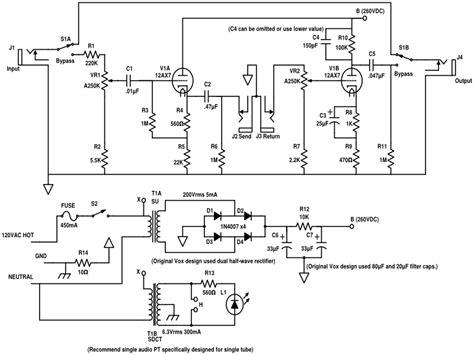 guitar effects loop diagram wiring diagram schemes