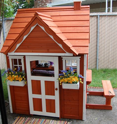 backyard discovery my cedar playhouse uk 187 backyard and