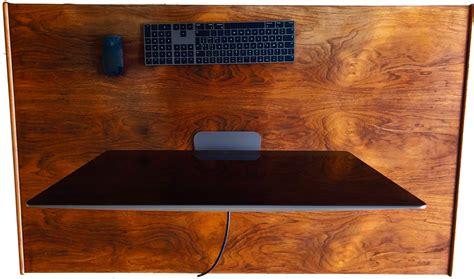 scrivania per imac moof vista pro dall alto spider mac
