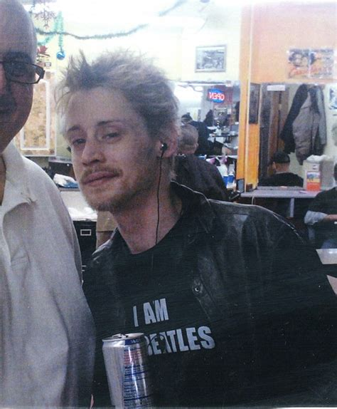 Bullpen Detox Heroin by Macaulay Culkin Out And About Looking Healthier After