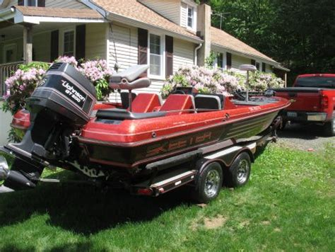 fishing boat for sale pa 1990 skeeter sk2000 fishing boat for sale in pine grove pa