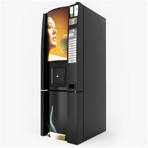 Coffee Vending 3d coffee vending machine v4 model