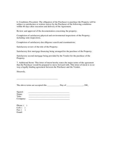 Letter Of Intent To Purchase Copper letter of intent to purchase free