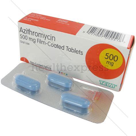buy azithromycin 500mg tablets online healthexpress uk