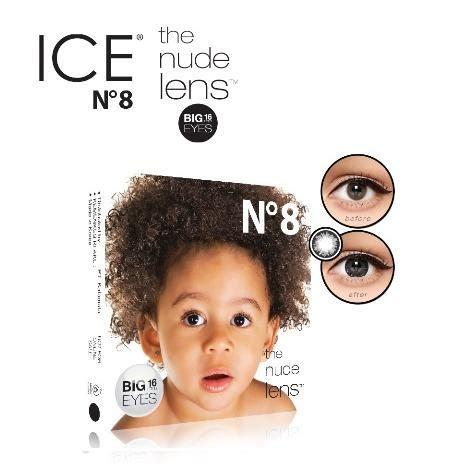 Softlens X2 N8 Black Baby Lens No 8 Hitam Big 16 Mm softlens x2 n8 baby black hitam elevenia
