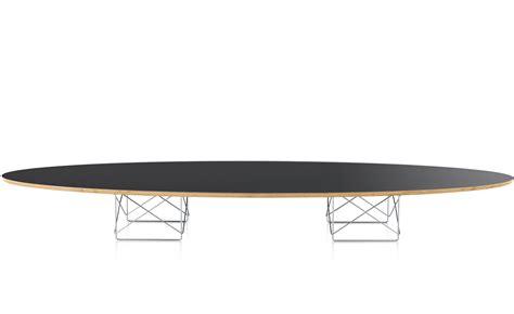 eames elliptical coffee table eames elliptical table hivemodern
