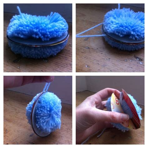 wool craft for pom pom wool craft children activity how to