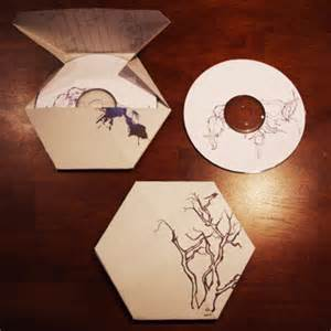 Origami Cd - cd cover contest winner lineweights
