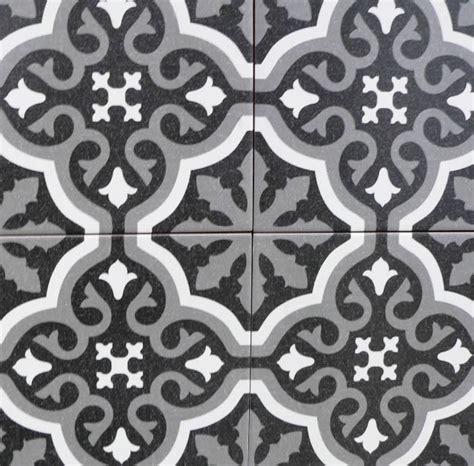 Grey White Black Bathroom - encaustic tiles sydney replica cement floor wall tiles sydney showroom