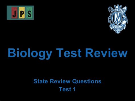 Bio Review biology test review 1