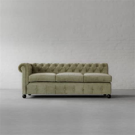 chesterfield chaise sofa chesterfield chaise sectional sofa large