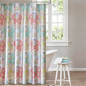 Echo Design Curtains Buy Echo Design Cyprus 72 Inch X 84 Inch Shower Curtain From Bed Bath Beyond