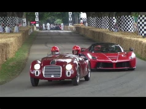 first ferrari ever made first and latest ferrari ever built 125s laferrari