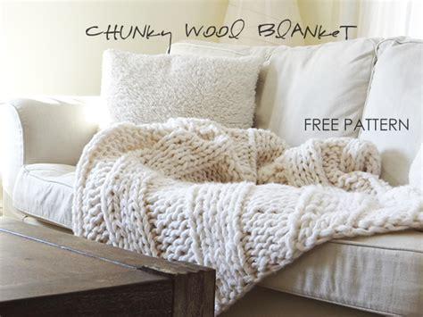 chunky yarn knit blanket pattern free chunky wool blanket pattern wool blanket free