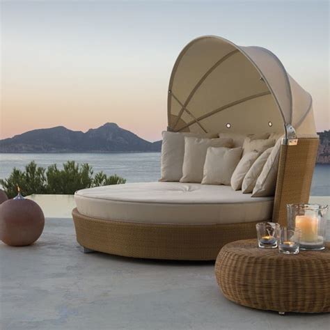 Daybed Outdoor Furniture Outdoor Wicker Daybed Contemporary Patio Chicago By Home Infatuation