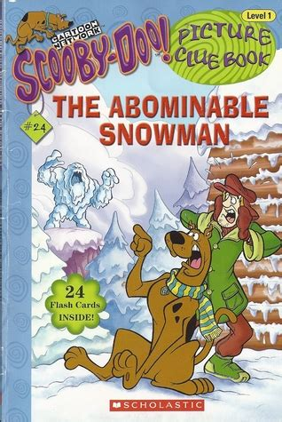 scooby doo picture clue books the abominable snowman by shannon penney
