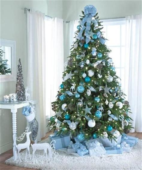 blue and silver decorated christmas trees tree decorating kits letter of recommendation