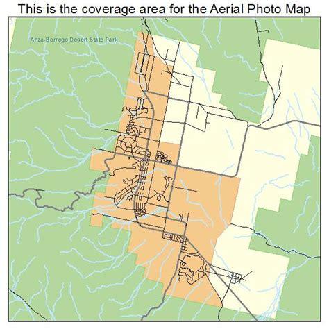 springs california map aerial photography map of borrego springs ca california