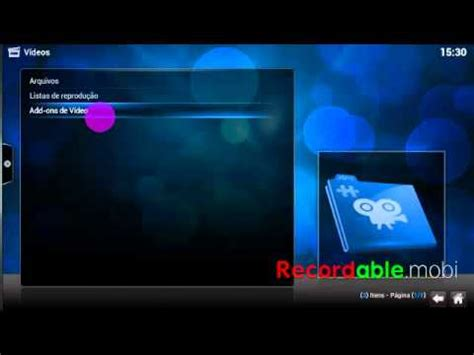 tutorial video xbmc tutorial b 225 sico xbmc streaming de video chromecast youtube