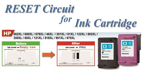 reset cartridge hp deskjet 1010 taiwan chip reset inkjet cartridge for hp 122 deskjet 1010