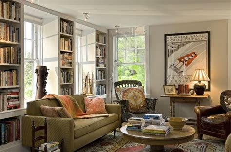 homey living room 20 books storage ideas for book