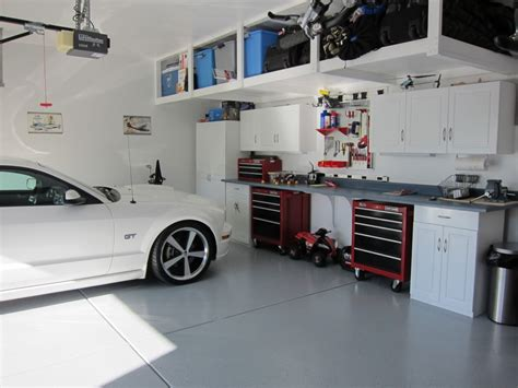 2 car garage organization ideas how to safely remove paint cement garage floor