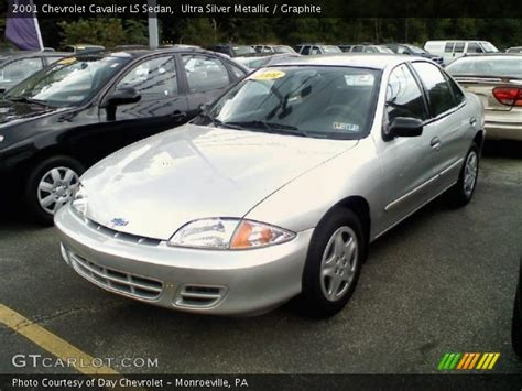 ultra silver metallic  chevrolet cavalier ls sedan
