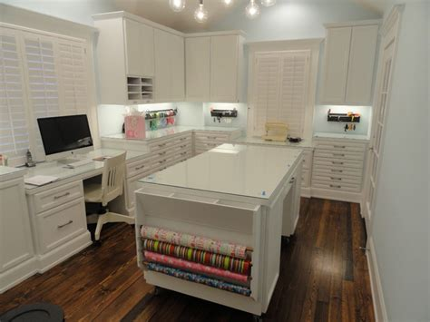 Home Office Craft Room Design Craft Room Traditional Home Office Houston By