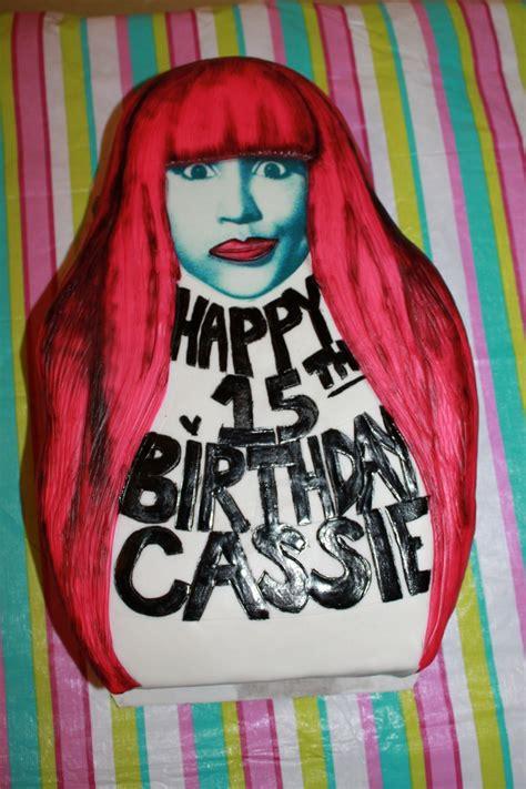 Nicki Minaj Birthday Cake Ideas