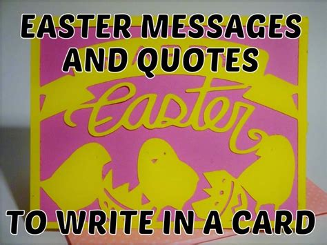 Quotes To Write In A Birthday Card Easter Messages And Quotes To Write In A Card Holidappy