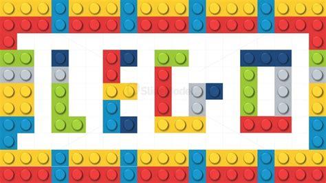 powerpoint themes lego powerpoint shapes lego bricks slidemodel