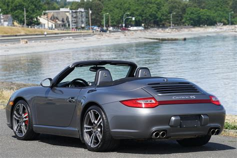 Porsche 911 Carrera 4s Convertible For Sale by 2011 Porsche 911 Carrera 4s Cabriolet For Sale Silver
